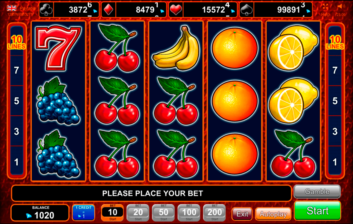 Poker cash slot 79569