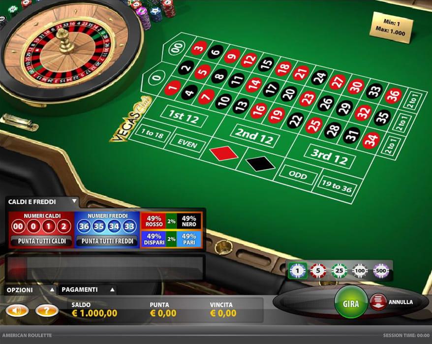 Roulette senza93552