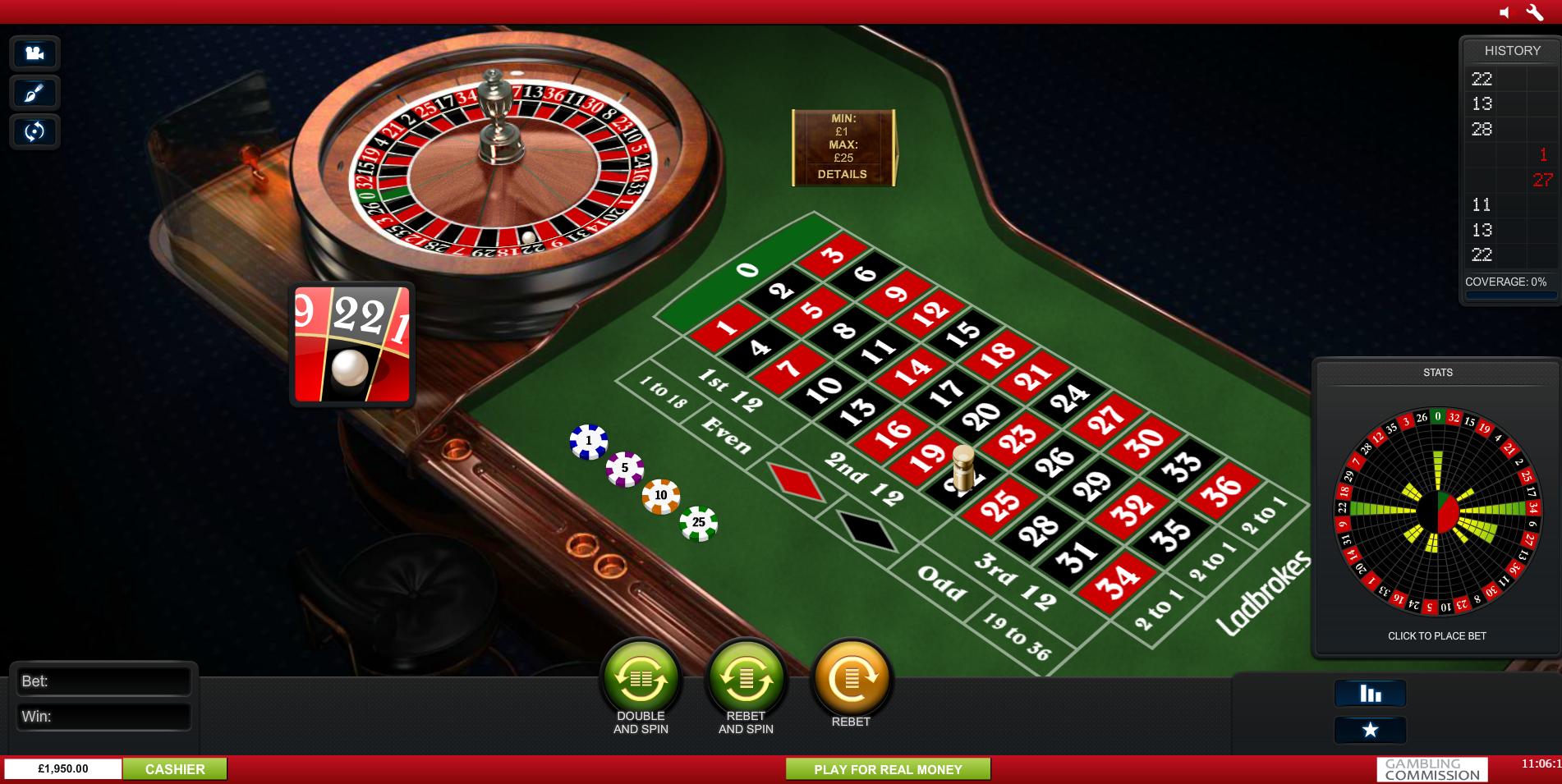 Roulette Pro Premium73110