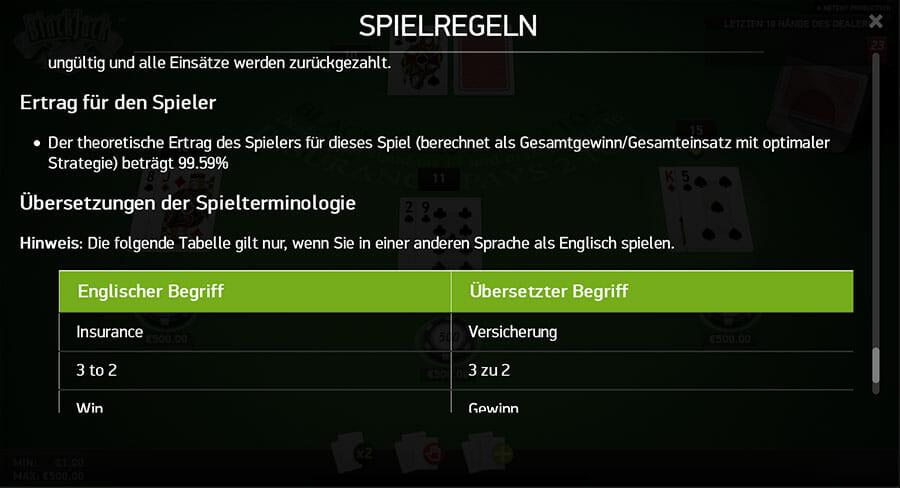 Blackjack online44901