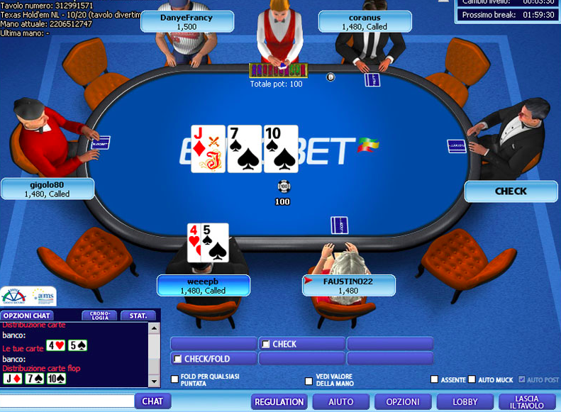 Payout sicuro Poker 78712