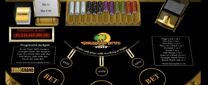Caribbean Stud poker49626
