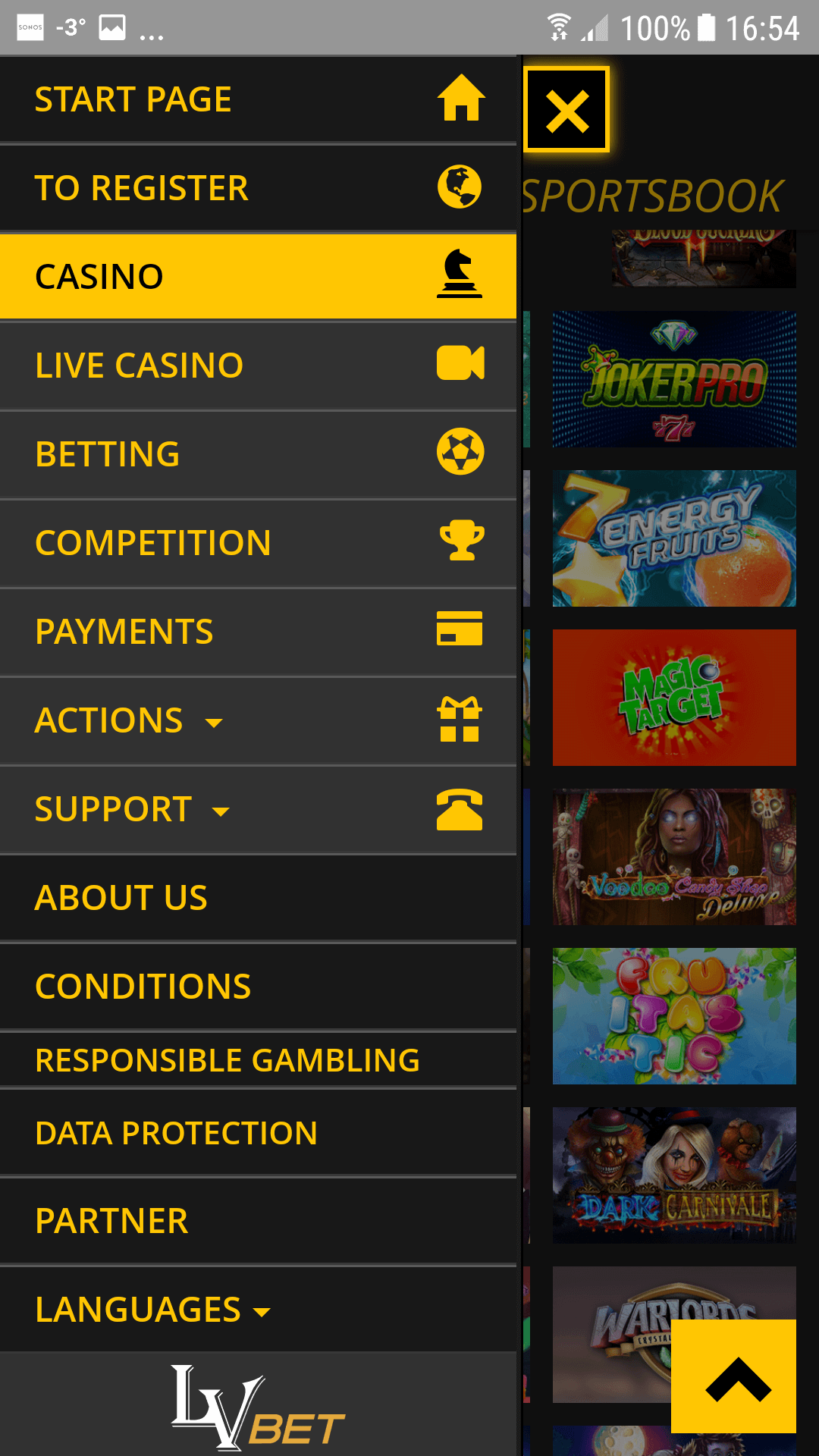 Casinò mobile 52511