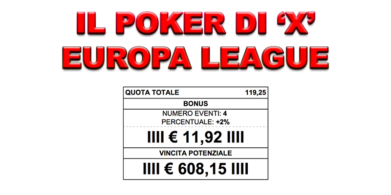 Europa League Pronostici 91728